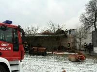 Wólka Kikolska: Pożar Chlewni. Padło kilkadziesiąt świń.