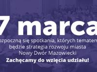 Nowy Dwór Maz: Konsultacje nad strategią rozwoju miasta