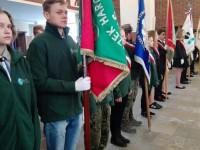 Nowy Dwór Maz: Harcerze na uroczystościach Katyńskich