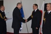 Kapitan Paweł Zieliński nagrodzony za pomoc w usuwaniu skutków nawałnic