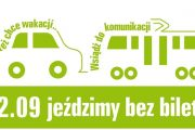 Europejski Dzień Bez Samochodu – podróż bezpłatna