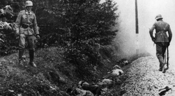 Zakroczym: niemiecki mord na polskich jeńcach 77 lat temu