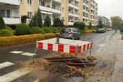 Modlin Twierdza: Zapadła się studzienka kanalizacyjna