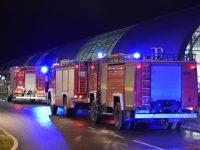 Lotnisko: Alarm z monitoringu przeciwpożarowego