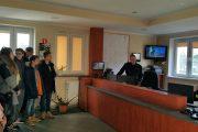 Nowy Dwór Maz: Gimnazjaliści z wizytą w Straży Pożarnej