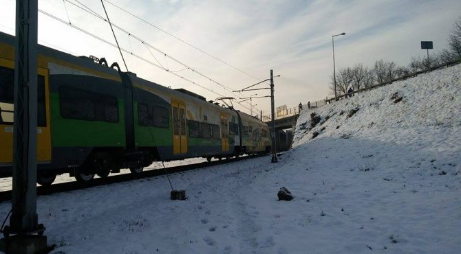 Nowy Dwór Maz: Skoczył pod pociąg