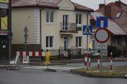 Nowy Dwór Maz: Zamknięty fragment ulicy Bohaterów Modlina