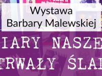 Nowy Dwór Maz: Wernisaż Barbary Malewskiej