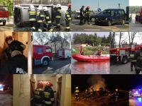 Statystyka roczna nowodworskich strażaków za 2016 rok