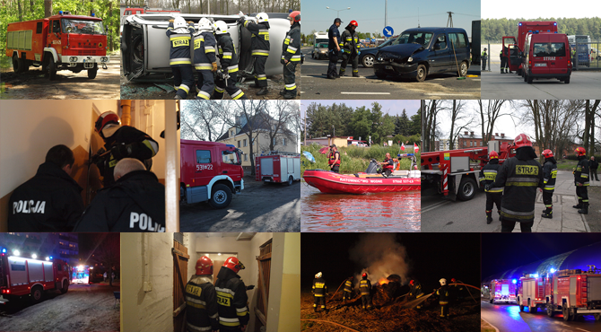 Nowodworski: 37 interwencji Straży Pożarnej