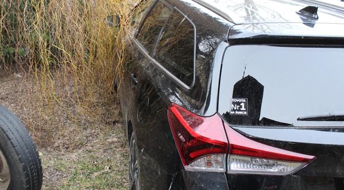Leoncin: Policjanci odzyskali kradzioną Toyotę