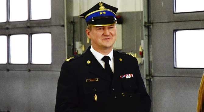 Nowy Dwór Maz: Komendant Smuniewski awansowany