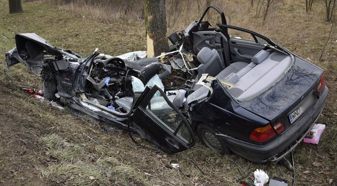 Nowy Dwór Maz: Wypadek na DK62. Śmigłowiec w akcji