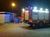 Pieńków: Pożar na stacji benzynowej
