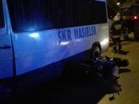 Nasielsk: Zderzenie motocyklisty z autobusem