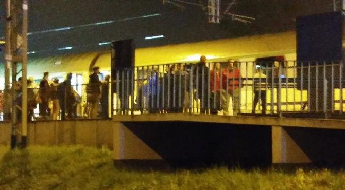 Nowy Dwór Maz: Groził, że ma bombę w pociągu