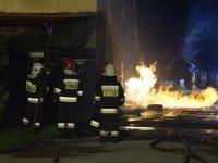 Kazuń Nowy: Pożar w warsztacie samochodowym