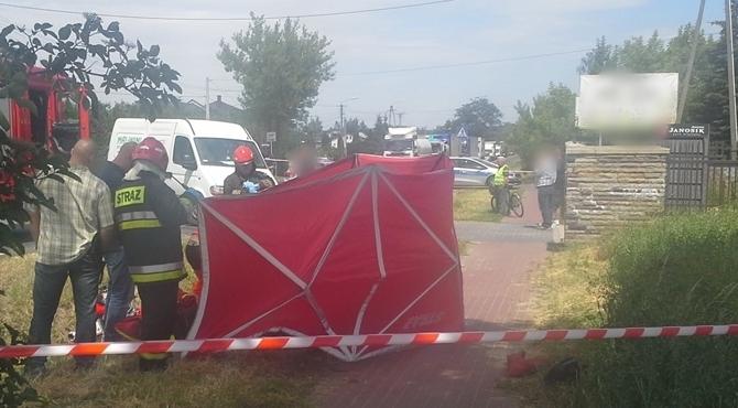 Stanisławowo: Śmiertelny wypadek motocyklisty