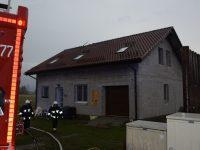 Kazuń Nowy: Piorun uderzył w dom