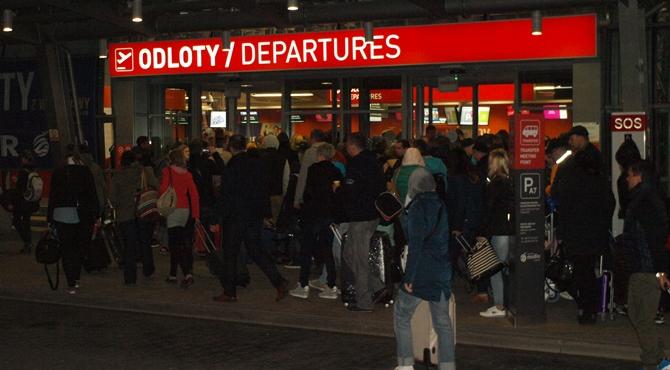 Lotnisko: Wyrok w sprawie fałszywego alarmu bombowego
