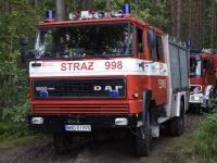 Strażacy ćwiczyli techniki gaszenia pożarów lasów