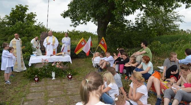 Zakroczym: Msza święta w Forcie I
