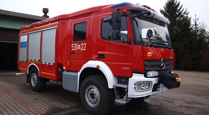 28 interwencji Straży Pożarnej w minionym tygodniu