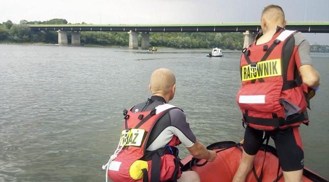 Zakroczym: 15-latek utonął w Wiśle.