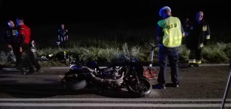 Psucin: Wypadek z udziałem dwóch motocyklistów