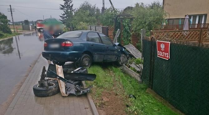 Wojszczyce: Zderzenie dwóch samochodów