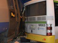 Modlin Stary: Zderzenie pendolino z autobusem lotniskowym