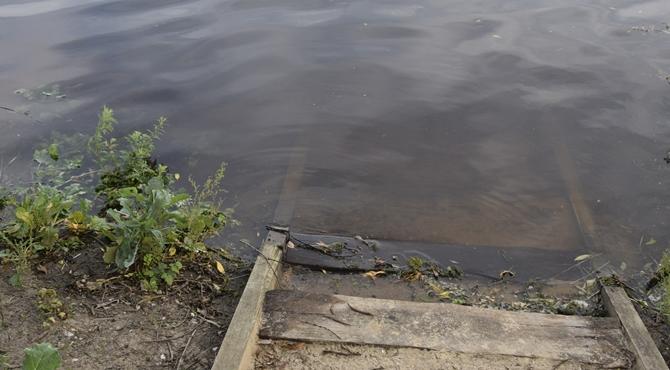 Poziom wody w rzece Wiśle opada. Nie ma zagrożenia
