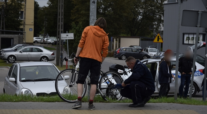 Nowy Dwór Maz: Toyotą potrąciła rowerzystę