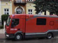 Zakroczym: Strażacy ponownie na wysypisku śmieci