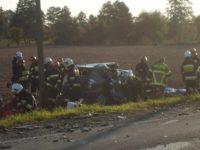 Emolinek: Śmiertelne zderzenie ciężarówki i osobówki