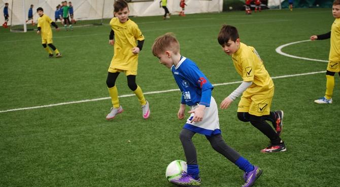 Przerwany mecz 10-latków na Orliku