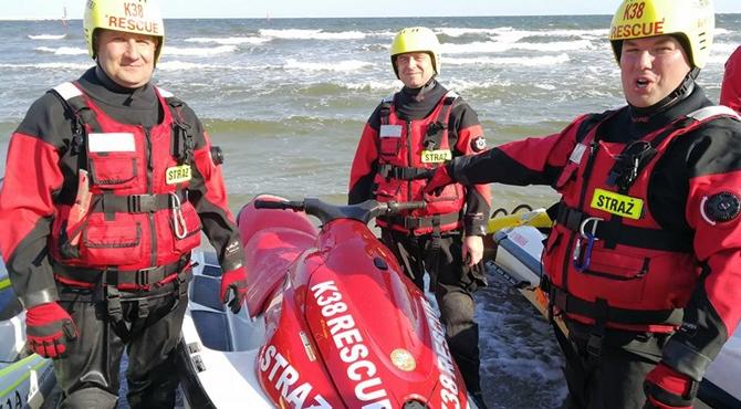 Ratownicy Wodni na szkoleniu K38 w Gdyni