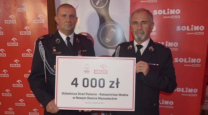 Dar Serca PKN Orlen dla OSP Ratownictwo Wodne