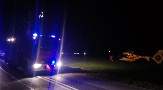 Pniewo: Nie żyje 18-letni Krzysiek potrącony na drodze