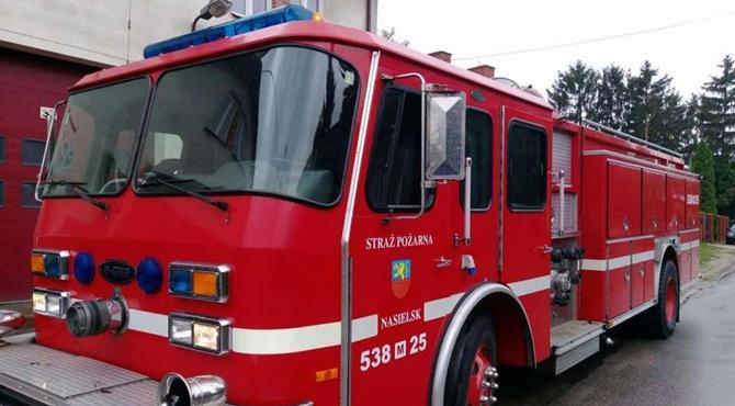 Nasielsk: Strażacy sprzedają amerykański wóz gaśniczy