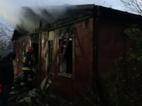 Modlin Stary: Pożar domu