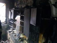 Nowy Dwór Maz: Pożar mieszkania na Młodzieżowej. Ranne dwie osoby