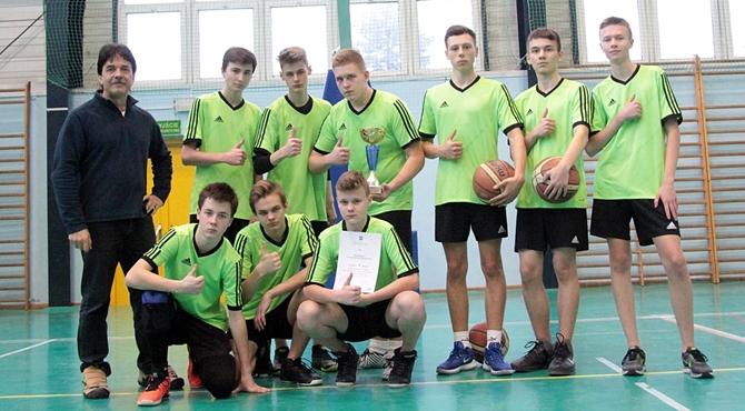 PG 1 i PG 2 najlepsi w koszykówkę w powiecie nowodworskim