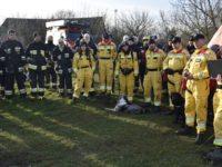 Pomiechowo: Ćwiczenia strażaków nad Wkrą