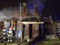 Kazuń: Pożar domu jednorodzinnego
