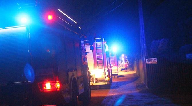 Mogowo: Pożar budynków gospodarczych