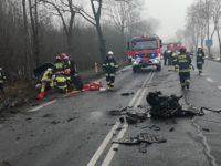 Nowy Dwór Maz: Wypadek na DK62