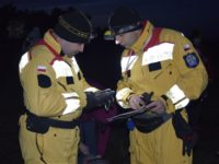 Krubin: Strażacy nocą ćwiczyli w lesie
