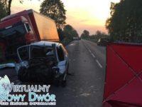 Trębki Stare: Śmiertelny wypadek na DK62. Nie żyje 23-latek