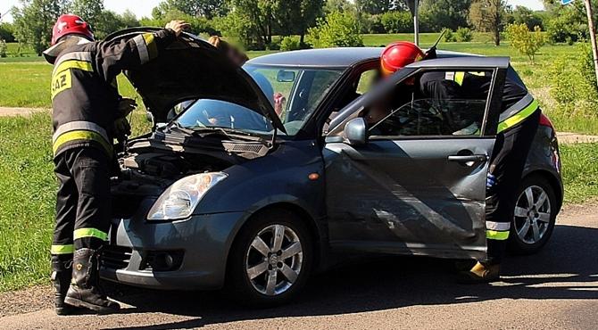Sady: Zderzenie dwóch pojazdów.